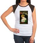 Christmas Hopes Women's Cap Sleeve T-Shirt