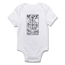 Wheel of Fortune Tarot Card Infant Bodysuit