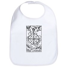 Wheel of Fortune Tarot Card Bib