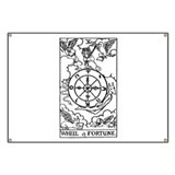 Wheel of Fortune Tarot Card Banner