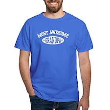 Most Awesome Grandpa T-Shirt