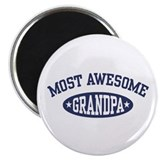 Most Awesome Grandpa Magnet