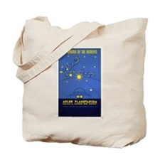 Adler Planetarium Chicago Vintage Art Tote Bag