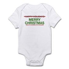 Infant Bodysuit Jesus Reason for Season
