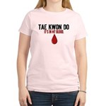 In My Blood (Tae Kwon Do) Women's Light T-Shirt