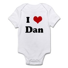 I Love Dan Infant Bodysuit