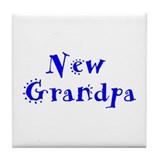 New Grandpa Tile Coaster