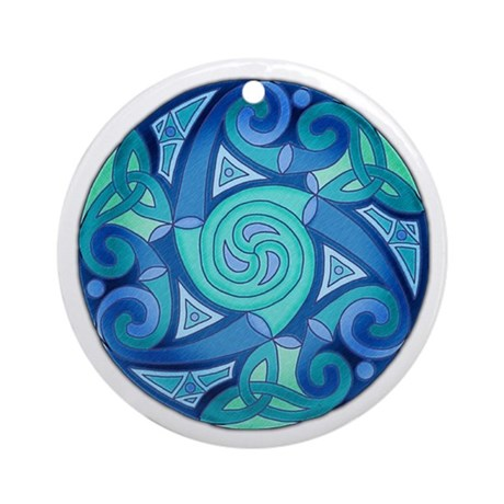 Celtic Planet Keepsake Ornament