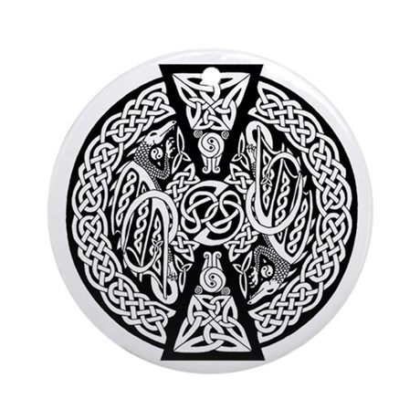 Celtic Knotwork Dragons Keepsake Ornament
