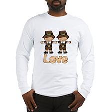 Gay Pilgrims (large) Long Sleeve T-Shirt