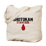 In My Blood (Shotokan) Tote Bag