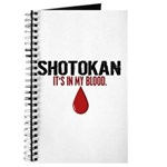 In My Blood (Shotokan) Journal