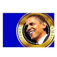 Obama Gold Seal Postcards (Package of 8)