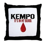 In My Blood (Kempo) Throw Pillow
