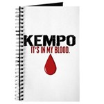 In My Blood (Kempo) Journal