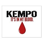 In My Blood (Kempo) Small Poster