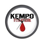 In My Blood (Kempo) Wall Clock