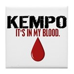 In My Blood (Kempo) Tile Coaster