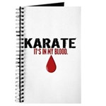 In My Blood (Karate) Journal