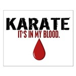 In My Blood (Karate) Small Poster