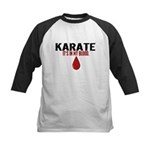 In My Blood (Karate) Kids Baseball Jersey