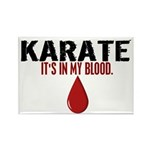 In My Blood (Karate) Rectangle Magnet (100 pack)