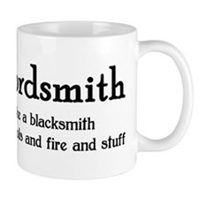 Wordsmith Small Mug