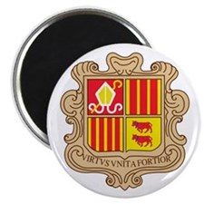 Cute Andorra europe Magnet