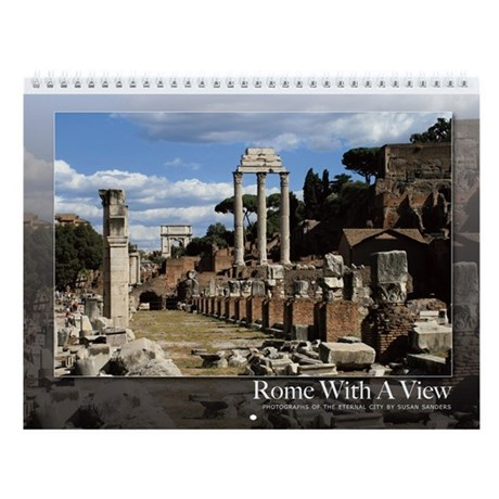 Rome With a View Wall Calendar