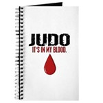 In My Blood (Judo) Journal