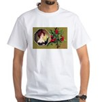 Victorian Christmas White T-Shirt