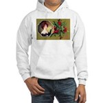 Victorian Christmas Hooded Sweatshirt