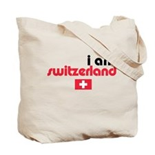 I Am Switzerland Tote Bag