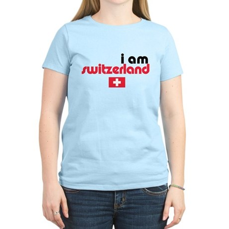 I Am Switzerland Women's Light T-Shirt