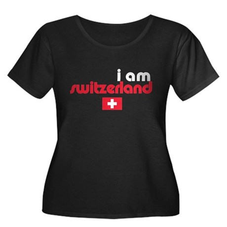 I Am Switzerland Women's Plus Size Scoop Neck Tee