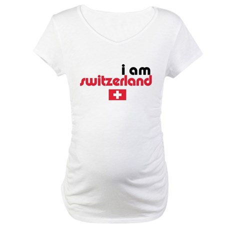 I Am Switzerland Maternity T-Shirt