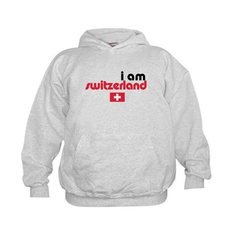 I Am Switzerland Kids Hoodie