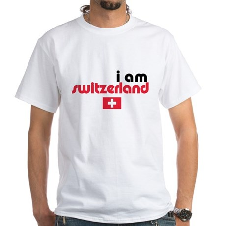 I Am Switzerland White T-Shirt