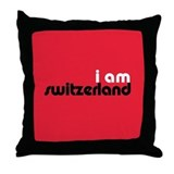 I Am Switzerland Throw Pillow