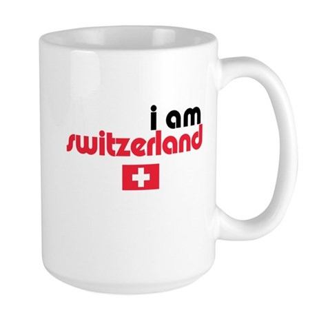 I Am Switzerland Large Mug