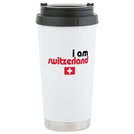 I Am Switzerland Ceramic Travel Mug