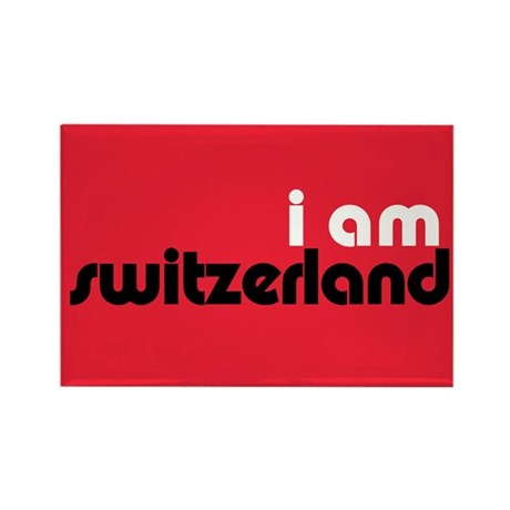 I Am Switzerland Rectangle Magnet (100 pack)