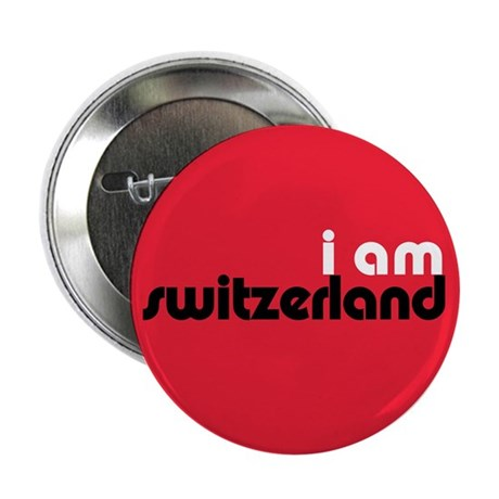 I Am Switzerland 2.25&quot; Button (10 pack)