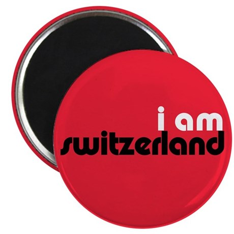 "I Am Switzerland 2.25"" Magnet (100 pack)"