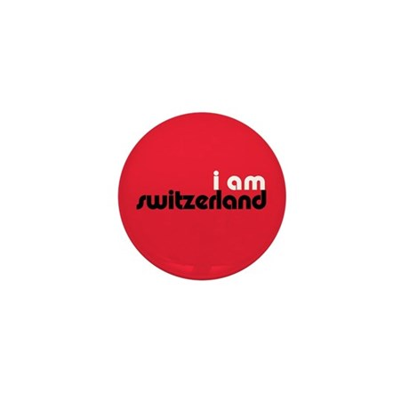 I Am Switzerland Mini Button