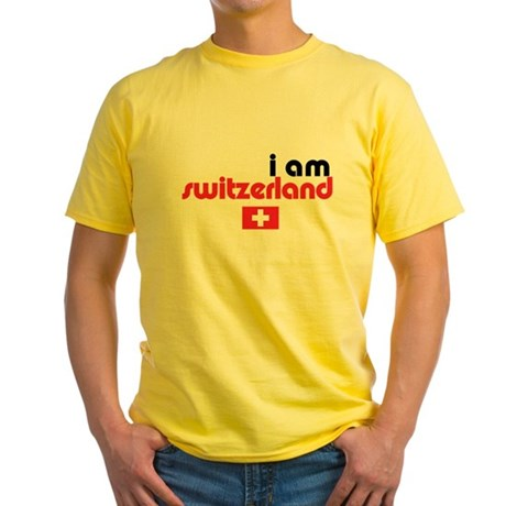 I Am Switzerland Yellow T-Shirt