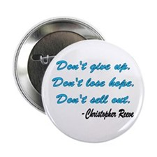 "Christopher Reeve quote 2.25"" Button"