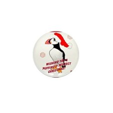 Puffingly Perfect Christmas! Mini Button (10 pack)