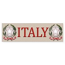 Italy Bumper Sticker Bumper Sticker (10 pk)