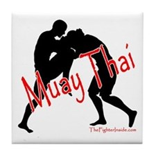 Muay Thai Tile Coaster
